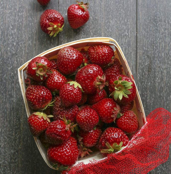 Just Picked Strawberries from Rose's berry farm in South Glastonbury, CT