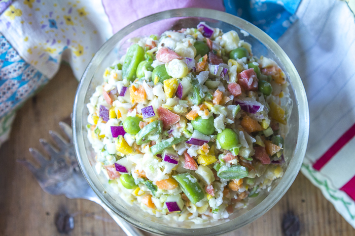 Colorful and delicious - The BEST slaw!