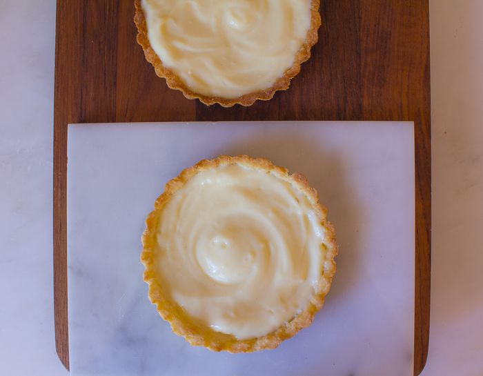 Fill the Tart Shells close to serving so they stays crisp