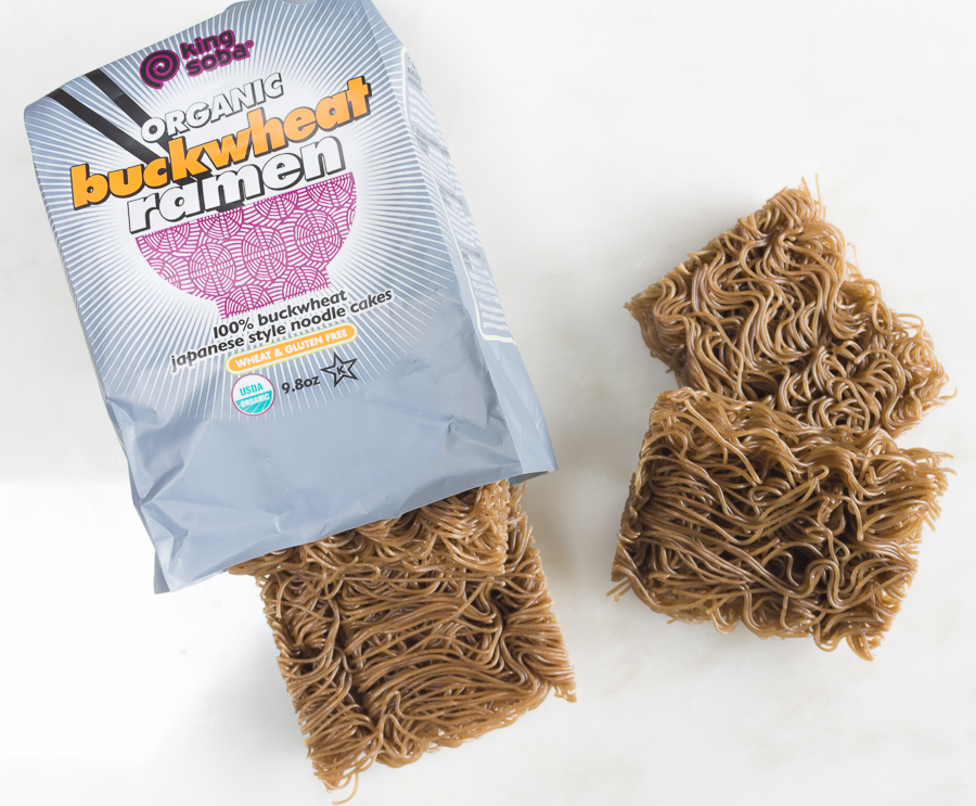 Buckwheat Ramen Noodles - available at health food stores