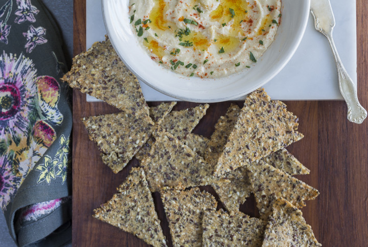 Karen's Gone Crackers – Foolproof Gluten-Free Seeded Crackers