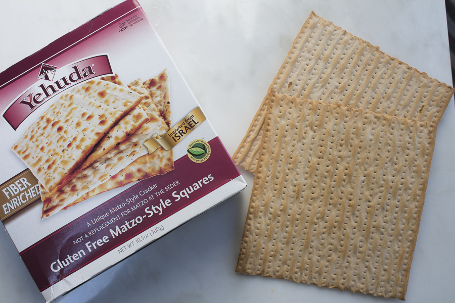 For a gluten-free dish, try this matzo.. it's delicious!
