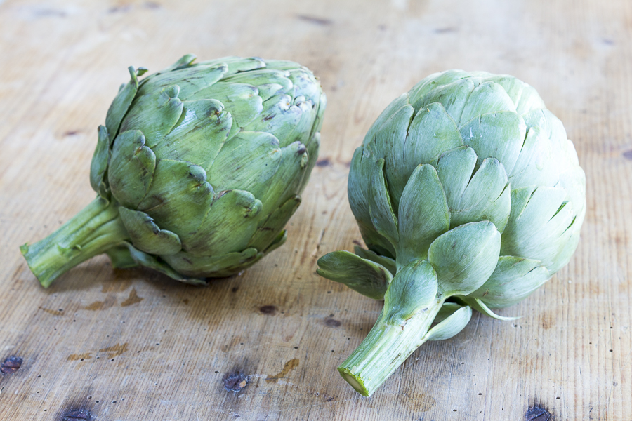 Artichokes are at their peek of flavor in Spring