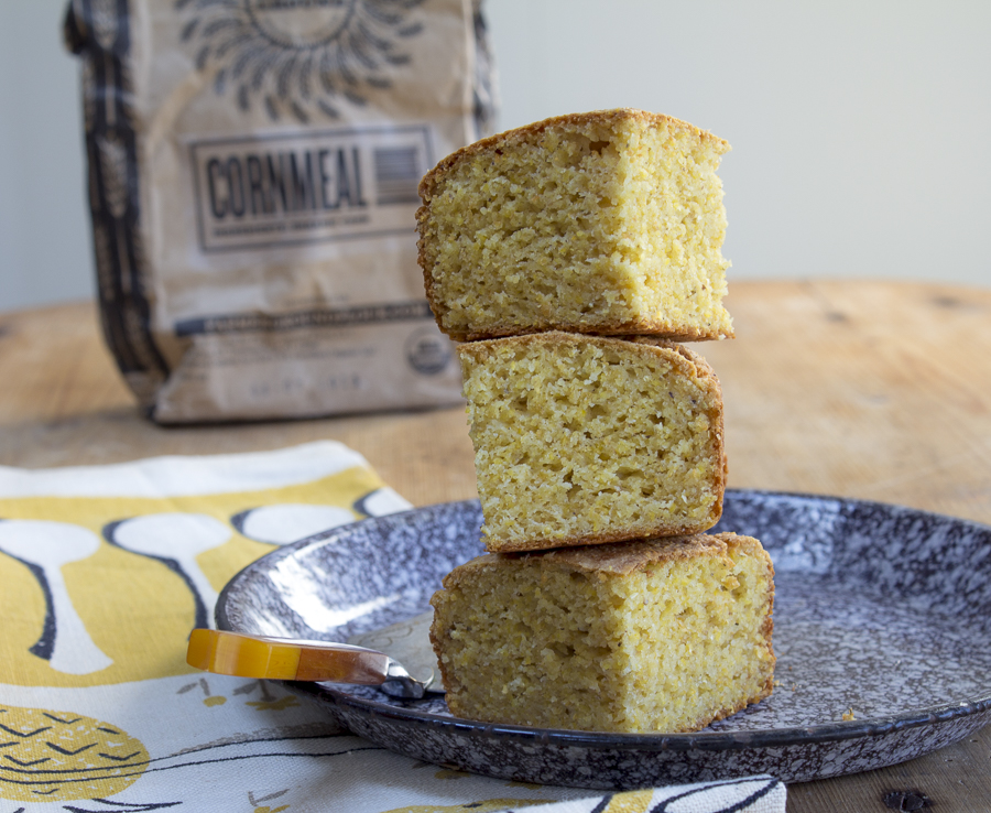 An easy cornbread recipe... eat some, freeze some for another day