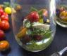 Burrata and Summer Tomato Parfaits