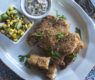 Cornmeal Crusted Fish Fingers with Skillet Succotash