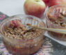 Vegan Apple Raspberry Crisp