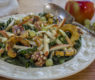 Waldorf Salad with Roasted Delicata Squash, Kale and Apples