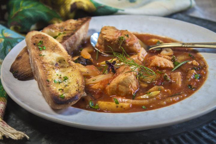 Hearty Mediterranean Fish Soup