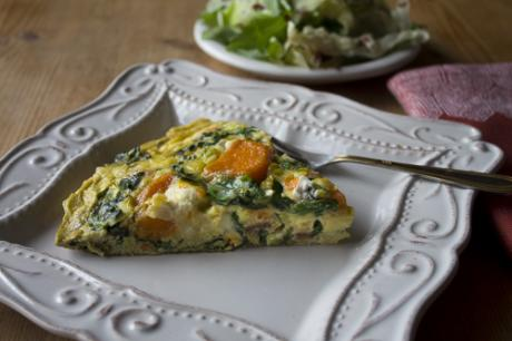 Also see recipe: Thanksgiving Leftover Frittata with Greens,  Sweet Potatoes and Fontina