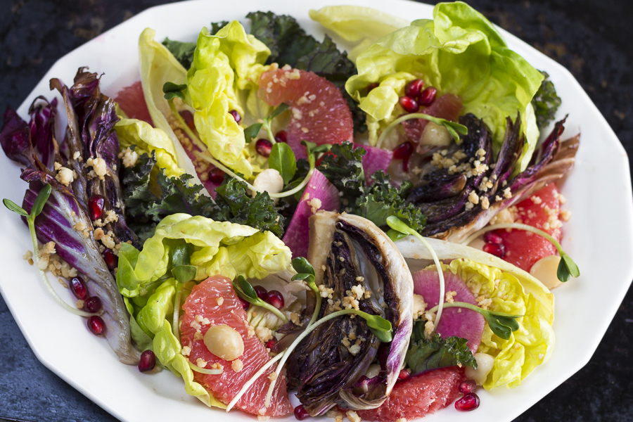 The perfect salad for a gathering - a real party pleaser! Elegant and healthy.