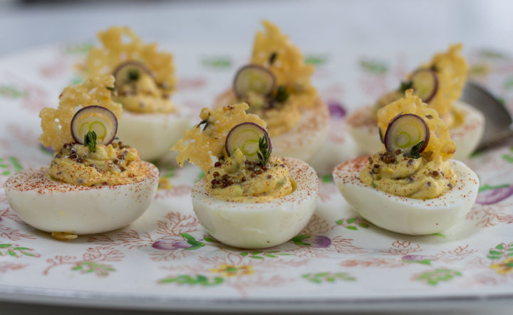 How to Hard-Boil Eggs: STEAM THEM & Karen's Favorite Deviled Eggs