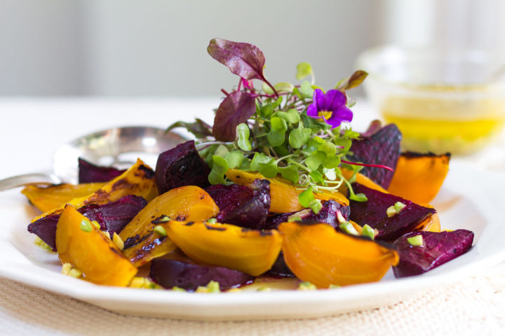 Wood Fired Beet Salad with Avocado-Citrus Vinaigrette & Mother's Day Recipes!