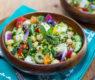 Quinoa Tabbouleh Salad ~ With a Melange of Fresh Crisp Vegetables (Naturally Gluten-Free)
