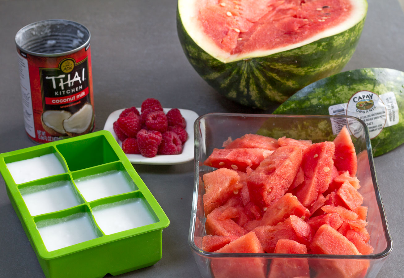 how to make watermelon juice with a blender