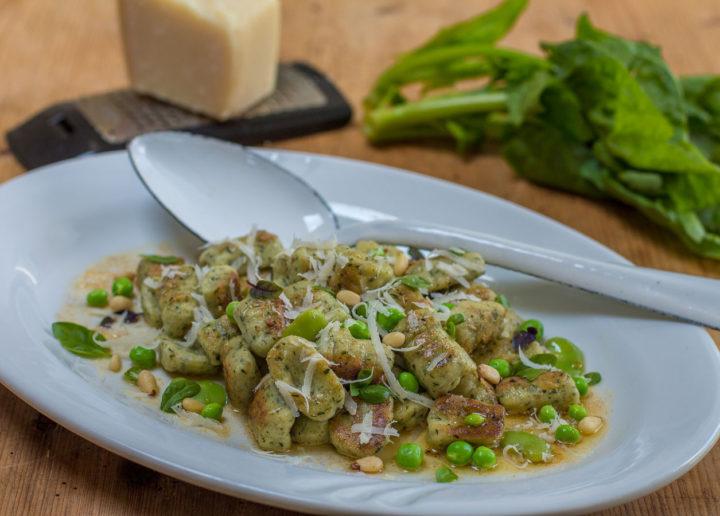 Gluten-Free Ricotta & Spinach Gnocchi