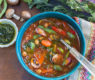 Mediterannean Vegetable Soup – packed with healthful goodness