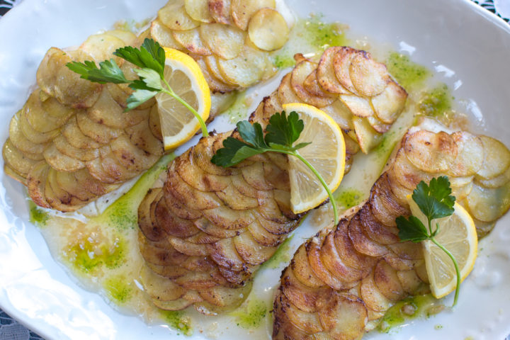 Potato Scaled Fish ~ Inspired by Paul Bocuse