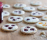 Lemon Poppy Linzer Cookies – Vegan & Gluten Free