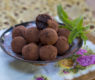 Fresh Mint Chocolate Truffles – Vegan