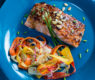 Glazed Hoisin Salmon and Shaved Carrot Slaw