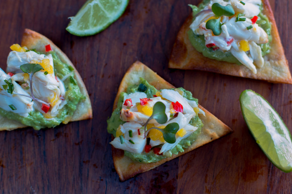Crispy and Creamy textures with Sweet Zesty Crabmeat - the perfect appetizer