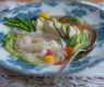 Quick and Healthy Chicken Soup with Ginger and Vegetables