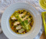 Pressed Grilled Chicken with Luscious Tomatillo Sauce