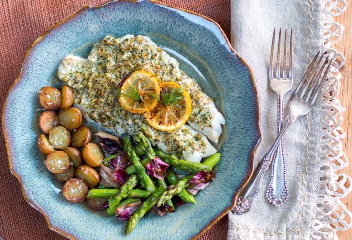 Weeknight Filet of Sole with Mustard Sauce
