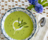 Spring Asparagus Soup – Vegan – with Cashew Crema Swirl and 6 Asparagus Recipes to Make