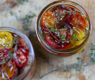 Dehydrated Heirloom Tomatoes Packed in Olive Oil and Thyme