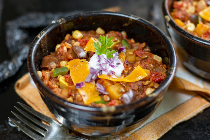 Amazing Veggie Chili Without Beans
